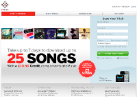 emusic Screenshot
