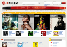 GoMusicNow Screenshot
