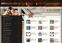 mp3splash Screenshot